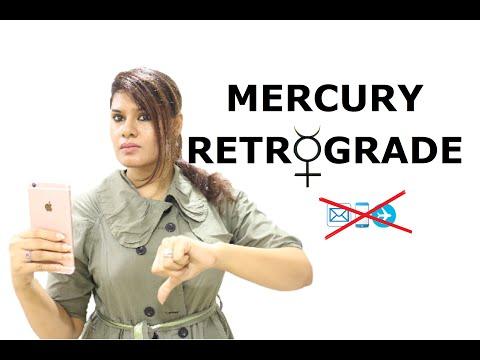 ASTRO QUEEN   MERCURY RETROGRADE IN BIRTH CHART   VEDIC ASTROLOGY