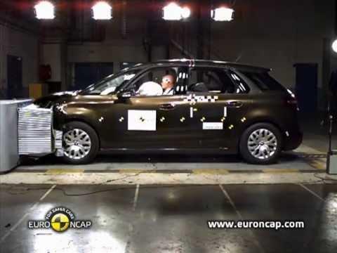 Euro NCAP | Citroen C4 Picasso | 2013 | Краш-тест