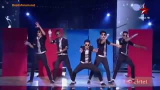 MJ 5 Dance Group Performance (India's Dancing Superstars) 23 june 2013 (LallySidhu143).flv