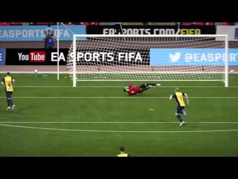 FIFA 15 — лучшие голы недели (подборка №1)