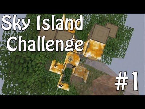 Minecraft Xbox - Sky Island Challenge - The Worst Start! [1]