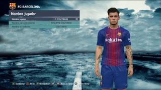 PES 2017 /NEW FACE Philippe Coutinho + Tattos 2018