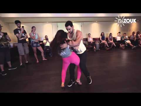 Freddy and Andressa - I'M Zouk 2016 - Miami - Masterclass Demo