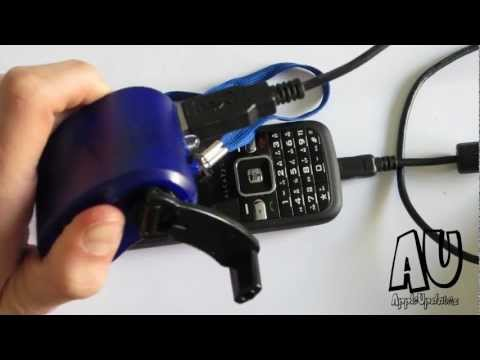 Dynamo Hand Crank Phone Charger + Giveaway - AppleUpdatez HD