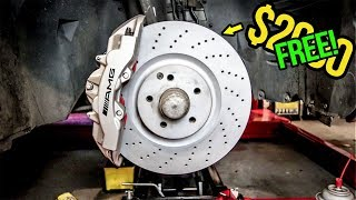 I Got $2000 AMG Brakes For FREE! (And So Can You!) - Project SL55 AMG Pt 2
