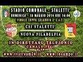 In Diretta da Stalettì Coppa Calabria CSI Stalettì- Nuova Filadelfia 18 Maggio 2014