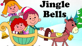 Jingle Bells | Cartoon Nursery Rhymes Songs For Children