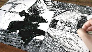 Vagabond- Drawing a Manga Page [#8]