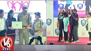 SHE Teams Awareness program Held In Ravindra Bharathi | Hyderabad