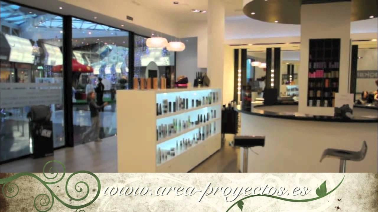 Dise o de peluquerias reformas de peluquerias dise o de - Interiores de peluquerias ...
