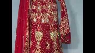 Maroon-heavy-embellished-bridal-lehenga-choli-and-dupatta-maroon