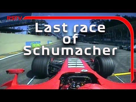 F1-Palik:Schumacher utolsó versenye (onboard)