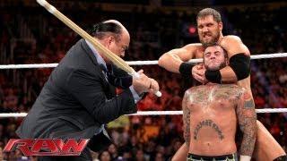 CM Punk vs. Curtis Axel - WWE App Vote Match: Raw, August 26, 2013