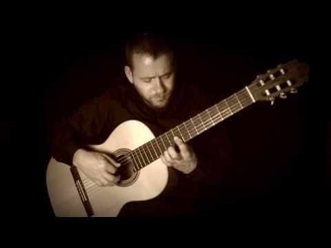 Romance (Jeux Interdits) - Solo Spanish Guitar - johnclarkemusic.com Music Videos