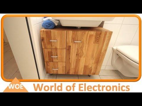 Waschbecken Unterschrank selber bauen #2