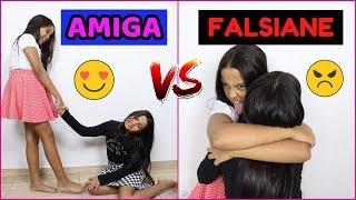 AMIGA VS FALSIANE - Diário das Gêmeas