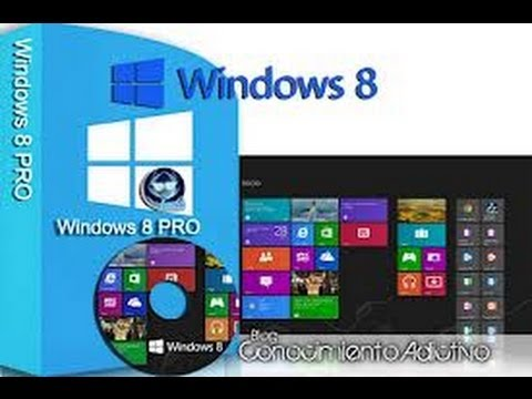 Descargar Windows 8 pro en español 32 y 64 bits totalmente full!!