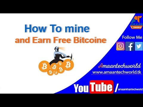 How to Earn bitcoin mining in Computer | btc miner online  | asic bitcoin miner |