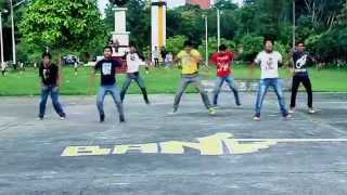 Street Performance 2 - BANG ! Sparking Dancers of Bangladesh Agricultural University (BAU)