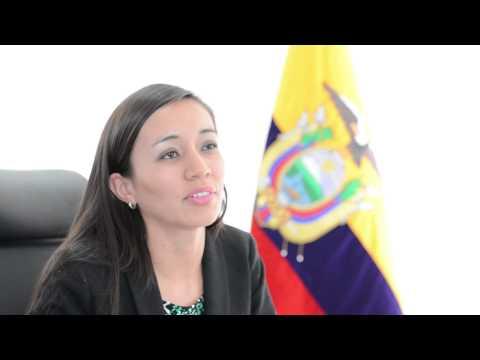 Sandra Naranjo, Minister of Tourism, Ecuador