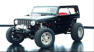 Jeep Wrangler Quicksand Hot Rod Video Engine Start INTERIOR Jeep Wrangler 2018 CARJAM TV