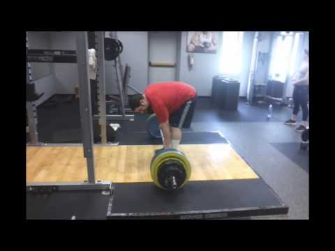 375lbs Deadlift at 235lbs Body Weight.