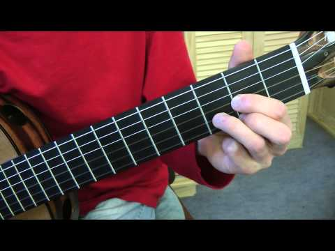 Cours de guitare - Paul McCartney : Mull of  Kintiyre (3/3) Couplet et refrain en R + Pont