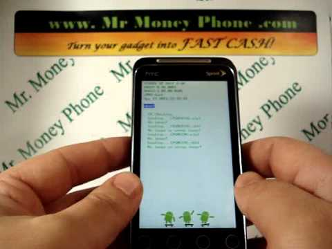 HARD RESET your HTC Evo Shift 4G DATA Wipe (RESTORE to FACTORY condition)