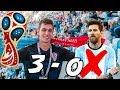 CROATIA VS ARGENTINA 3 0!!!   Russia World Cup Vlog #3