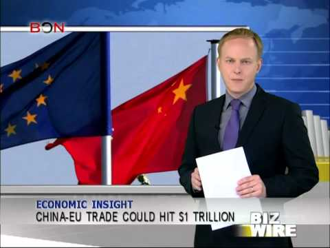 China-EU trade could hit $1 trillion - Biz Wire - April 2,2014 - BONTV China