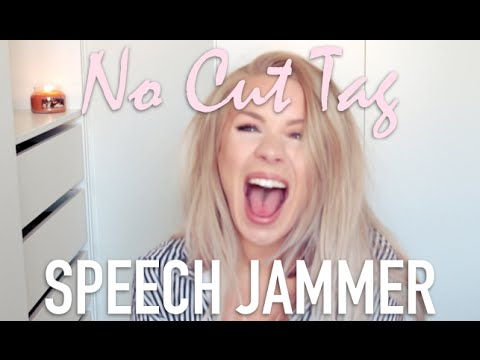 No Cut Tag m. SPEECH JAMMER