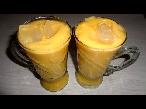 How to Make Mango Lassi Recipe in Telugu