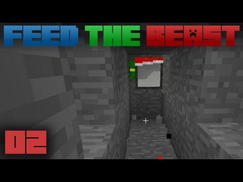 Minecraft Feed The Beast E02: Turtle PokeHole Mine
