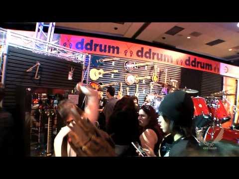 Dean Guitars N.A.M.M. 2015 Highlights -  Dave Mustaine w/ Fans