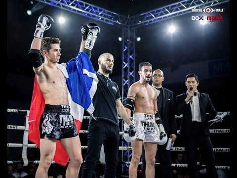 Victor Pinto vs Kamal Aousti   THAI FIGHT PARIS