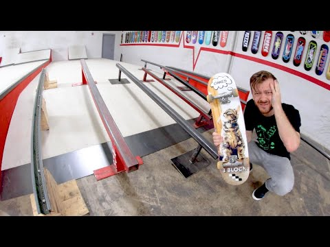 The Skate Rail Death Trap! / Warehouse Wednesday