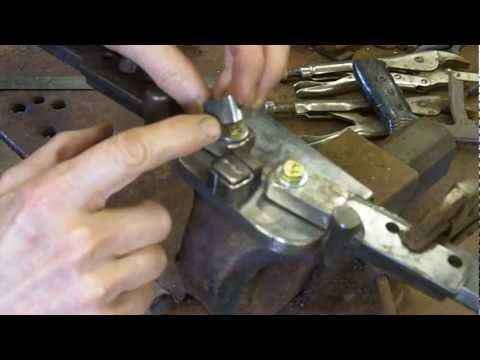 Metal bender how to bend loops for handmade buckles extended version