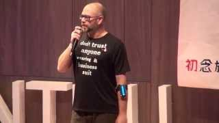 Be an evil genius, do what you want|Max Noble|TEDxNTHU 2015:初.練