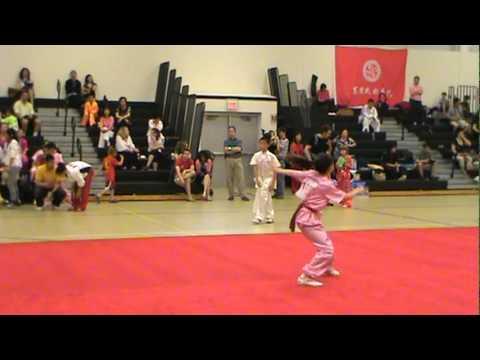 2011 New Jersey International Wushu Tournament - Elizabeth Guo - Nan Quan (Southern Fist)