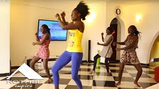 Akothee Dancing with Her Girls (TEAM BIG FIVE)