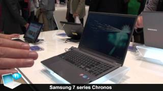 Samsung Serie 7 Chronos presentazione
