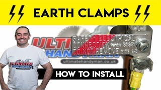 How to install earth clamps | cross bonding