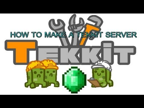 How to Make A Minecraft Tekkit Server! *FAST And EASY* (Port Forwarding With D-Link)