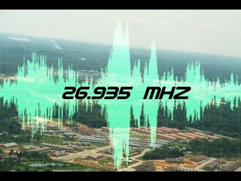 CB radio strange data transmissions on 26.935 Mhz, a real mistery unsolved.