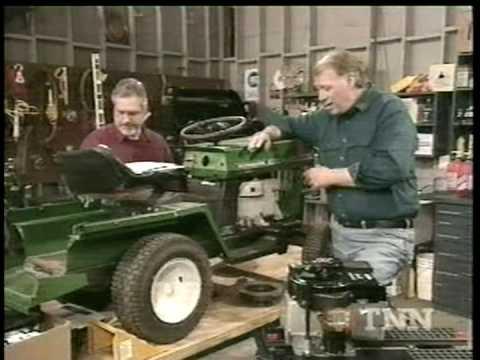 Bonanza Riding Mower / Garden Tractor ~ Briggs & Stratton Part 1
