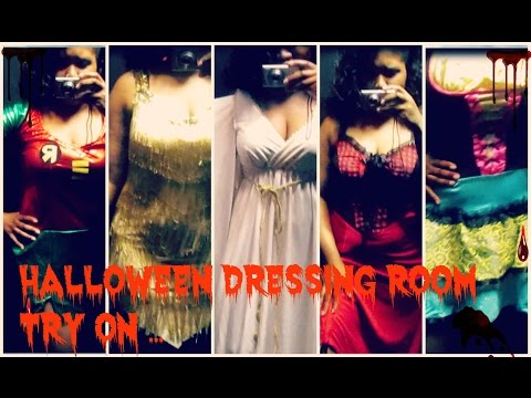 Halloween Dressing Room Try On { Halloween Costume Ideas For Curvy Girls }