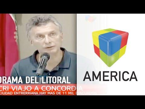 Macri: Que los damnificados sepan que no están solos