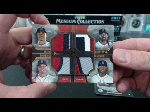2017 Topps Museum Collection Baseball Hobby 6 Box Half Case Break #15
