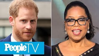 Prince Harry Hopes New Series With Oprah Winfrey Will Have 'An Impact' | PeopleTV