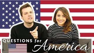 Questions For Americans! 👀🇺🇸What Do British People Think About America?